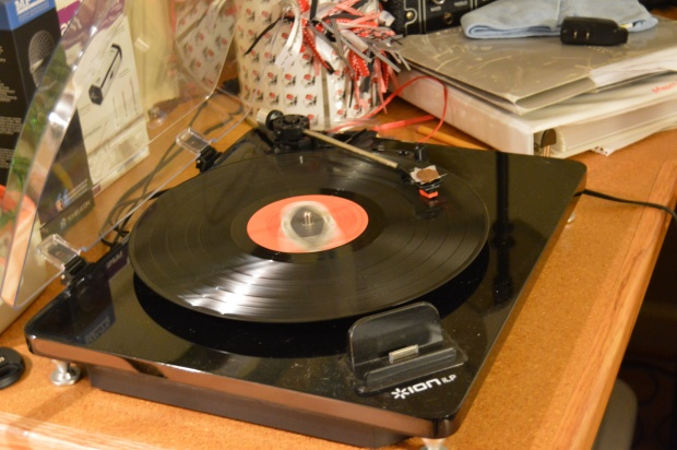 No, we are not too young to know what having a record player around is like....