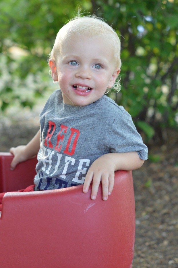 Cousin, Asher at 2 years